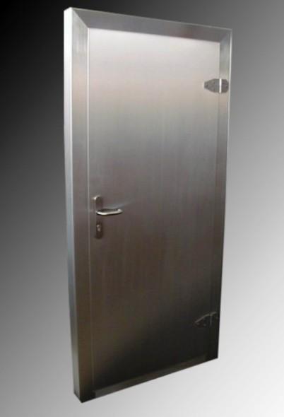 Jednokřídlé,provozní dveře vč.zárubně